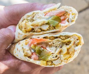 Optimized-Chicken Shawerma Wrap