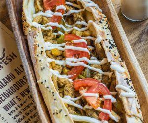 Optimized-Oven Baked Chicken Shawarma Fatayer