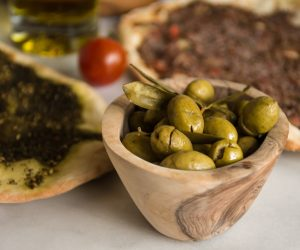 Optimized-Palestinian Olive Plate