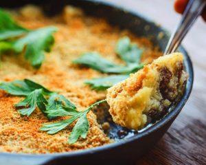 Optimized-mashed potato pan