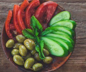 Vegetables & Pickles Plate